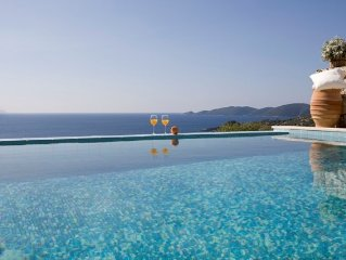 Secluded Private Villa Swimming Pool, Garden, Beach Sea Views
