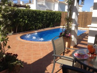 Private Heated pool and Air jet seating area, free WIFI, great location 5*Resort
