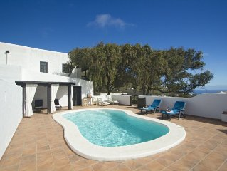 Traditional Canarian farmhouse and in a rural area