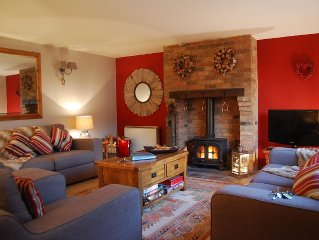 Outstanding barn conversion cottage in South Devon near beaches and moors.