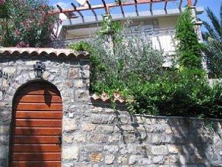 Sea-side Old Stone Villa In Private Mediterranian Garden