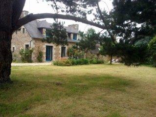 Plouha: Ravissante maison bretonne en bord de mer dans une  nature  exceptionnel