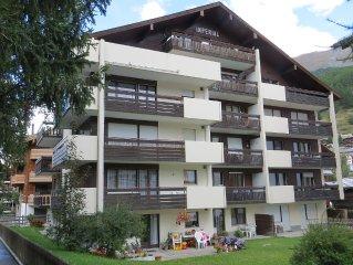 Cosy and convenient residential flat in Zermatt