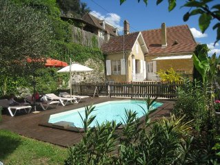 Tres belle maison classee 4 etoiles. Vue imprenable sur la  Dordogne.