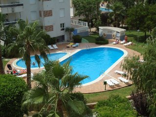 Apartment with Shared Pool, Gardens