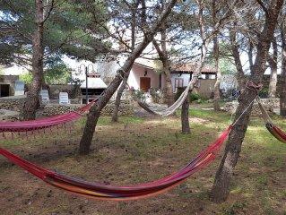 Villa in pineta tra paese e mare, Favignana
