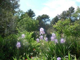 Mazet indépendant en pleine nature, tout proche d' Aix en Provence