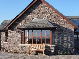 Luxury holiday house to rent on Caragh Lake, Ring of Kerry, great views
