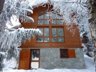 Chalet haut de gamme de 100 m2 - tout confort et accessible skis aux pieds - sta