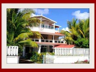 Tres belle Villa: calme, spacieuse avec Wifi -150m de la plage-emplacement ideal