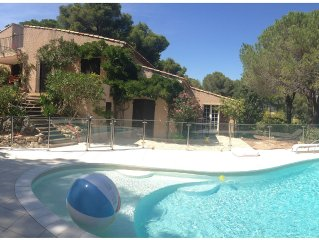 Villa 4 ch. with pool and large garden in Ramatuelle (near Saint Tropez)