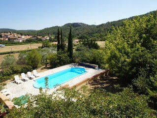 Villa With Private Pool, Large Private Garden And Stunning Views