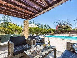 Beautiful luxury villa. Heated Pool.  5 min walk to resort centre