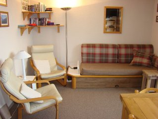 Apartment in Les Coches, two bedrooms, in the hea