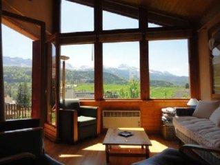Appartement/ maison avec jardin clos et vue magnifique sur montagne hypercentre
