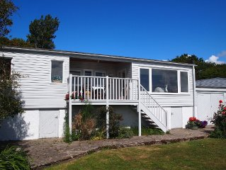 Beach front location, Pet friendly, Full of charachter, Private garden, Sea view