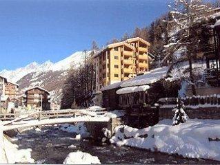Chalet Apartment With Stunning Matterhorn Views