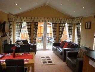 2 Bedroom, Dog friendly Lodge In the Lake District