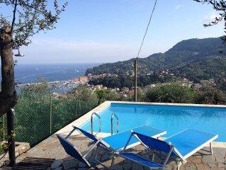 Villa con piscina privata vista mare SCONTI PER ULTIME DISPONIBILITA'