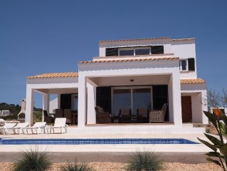Large Detached Villa With Private Pool And Sea Views