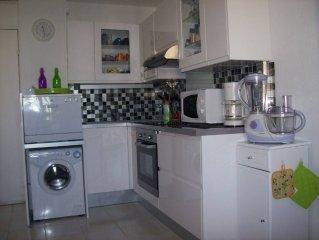 appartement dans résidence accès direct mer beau 2 pièces 4 personnes très confo