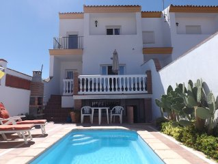Villa With Private Pool, Sun Terraces, Country Views and  Village Location
