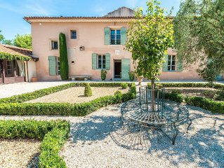 Beautifully Refurbished Farm House with Heated Pool and Magical Gardens