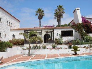 Spacious Traditional Portuguese Villa on 5* Praia del Rey Golf Resort