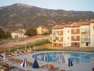 Luxury Family Apartment in the Popular Olu Deniz Area.