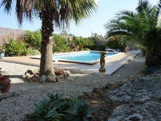 Luxury Villa with Sea/Harbour Views, Private Pool and Gardens