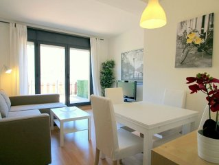 Apartment with terrace and great views, La Massana