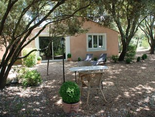 Guest House Set On A Private Ground Of A Villa In Carpentras With A View On The