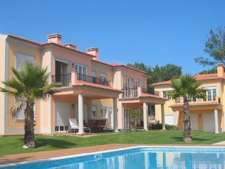 Luxury 3 bedroom apartment in Praia d'El Rey 5* Golf and Beach Resort