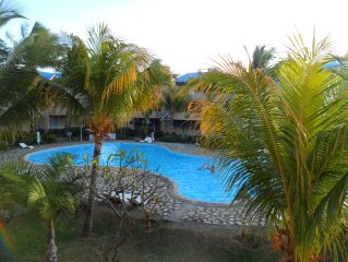 Superb apartment-300m from beach (Rate incl. free WiFi, maid service, parking..)