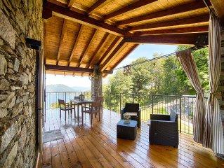 I FAGGI Country House with LAKE VIEW -   STRESA - LEVO - 1st floor apartment