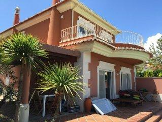 Private secluded modern villa on Boavista champIonship golf course