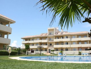 Fabulous Apartment Only 200 Metres From Aldea Beach & with free fast WIFI.