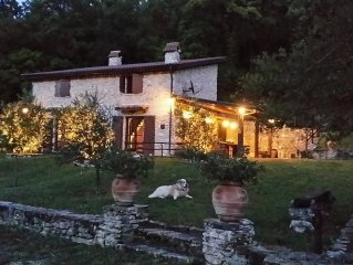 Charming stone farmhouse in the countryside of Ro