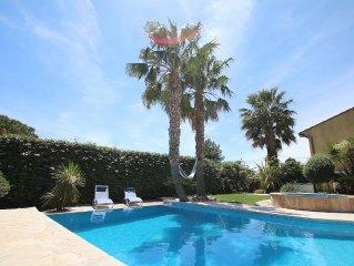 Villa avec jardin, piscine et jacuzzi : l'Oasis des Laures