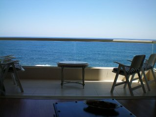 SeaFront Spacious Corner Apartment ideal location with unobstructed Sea Views