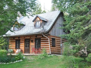 SUPERB CHALET IN WOOD LAKE FOREST MEADOWS AND WARM AND COMFORTABLE
