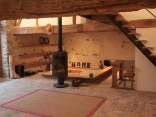 'la Grange148' Ambiance charme & contemporaine en Bourgogne