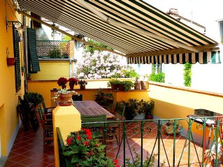 An Authentic Tuscan Vacation Townhouse in Lucca Historic Center