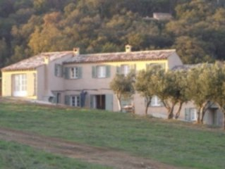 Pretty villa with pool in tranquil countryside near the beaches of St Tropez