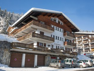 FABULOUS DUPLEX APARTMENT IN THE HEART OF MORZINE/PORTES DU SOLIEL