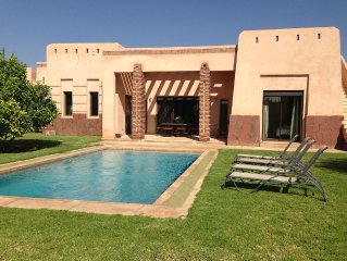 Detached Villa with private pool in Apple Gardens Resort and Spa, Marrakech