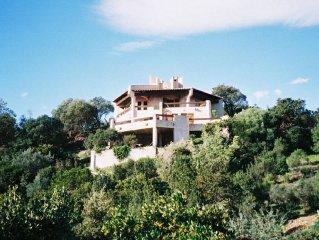 Grande villa 13 personnes avec plage privée et magnifique vue mer