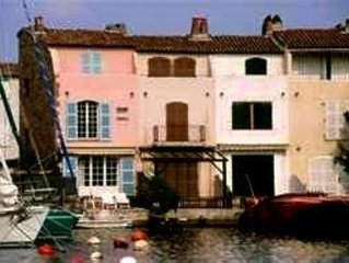 Stylish Waterfront Apartment Port Grimaud, near St. Tropez,  France