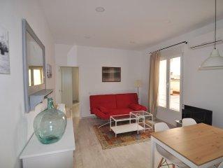 Confortable y amplio apartamento a estrenar en el centro de Madrid, con A/A Wifi