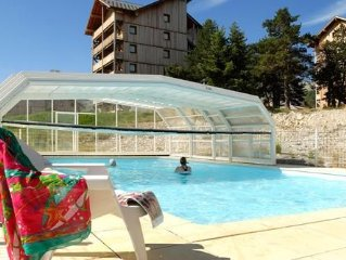 cottage 5 people resort superdevoluy Hautes-Alpes